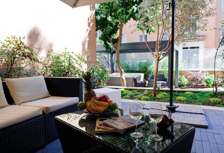 Monteverde Guesthouse, Rom, Terrass