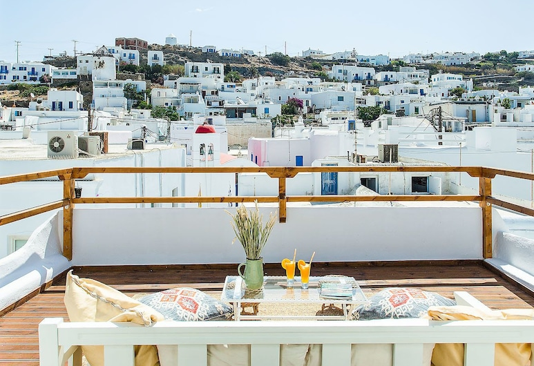 Juliette by The Pearls Collection, Mykonos, Villa, 3 Bedrooms, City View, Terrace/Patio