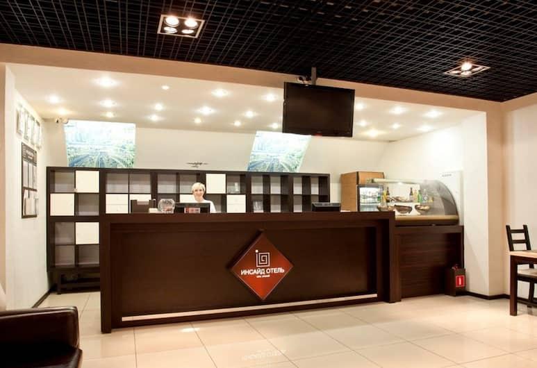 Inside Transit Hotel, Moskovskiy, Reception