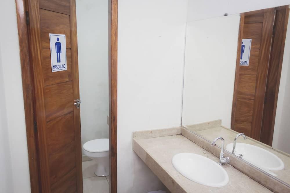 Basic Shared Dormitory, Men only, Non Smoking - Bathroom