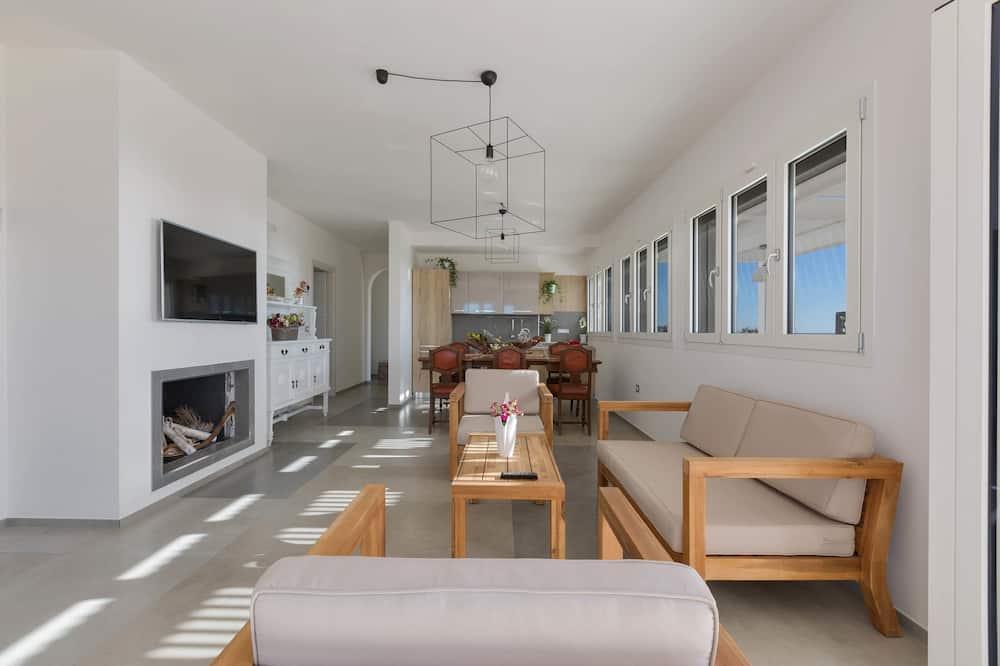 Appartement Panoramique, 4 chambres (999) - Salle de séjour