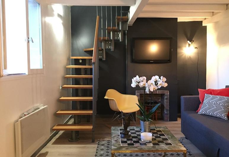 La Suite Cardeurs, Aix-en-Provence, Apartmán, 2 spálne, Obývačka