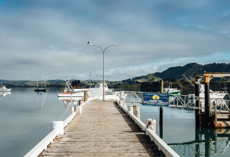 Wonderful Whangaroa, Whangaroa, Maison, plusieurs lits, vue océan (Wonderful Whangaroa), Ponton