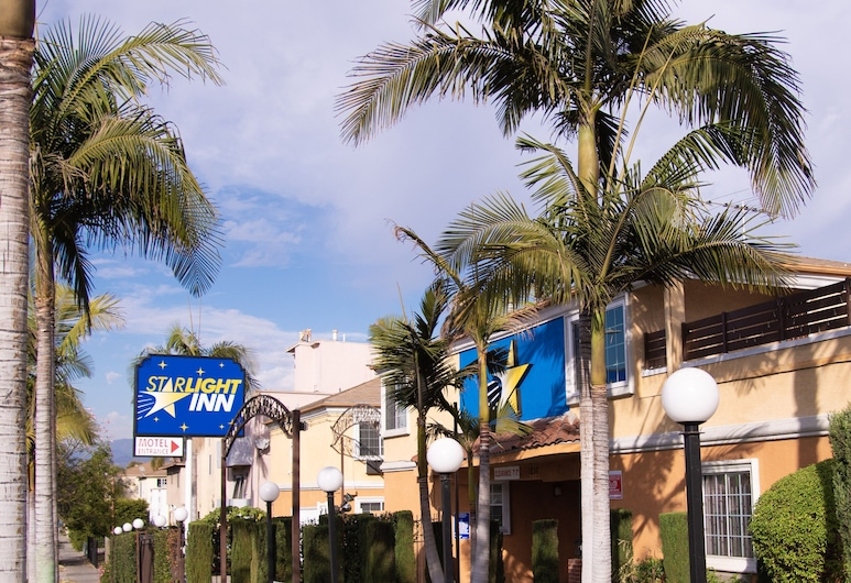 Starlight Inn La Brea, Los Angeles, Pohľad na hotel