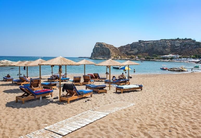 Stegna Akti, Rhodes, Bãi biển