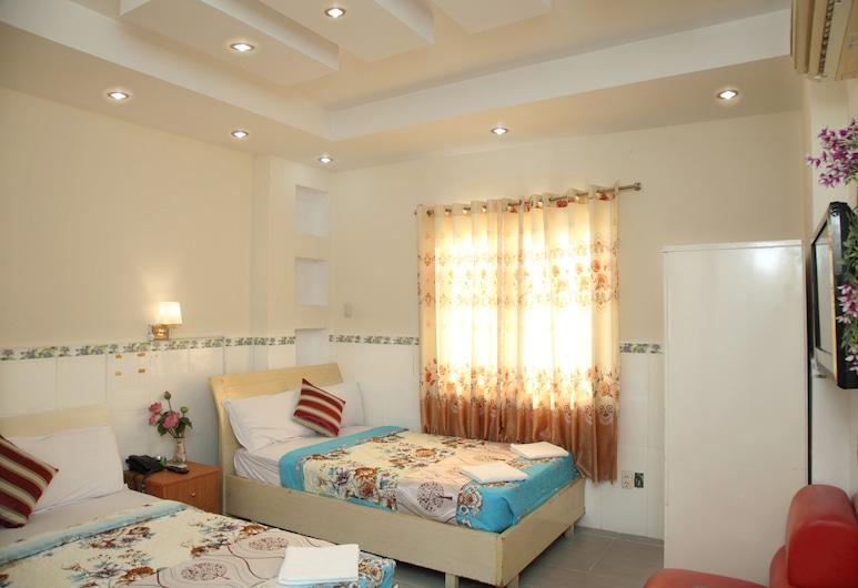ミン クアン ホテル, ホーチミン, デラックス トリプルルーム, 部屋