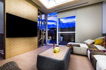 ภาพ โรงแรมสโลว์ซุป ฮอตสปริงส์ ใน เจียวซี