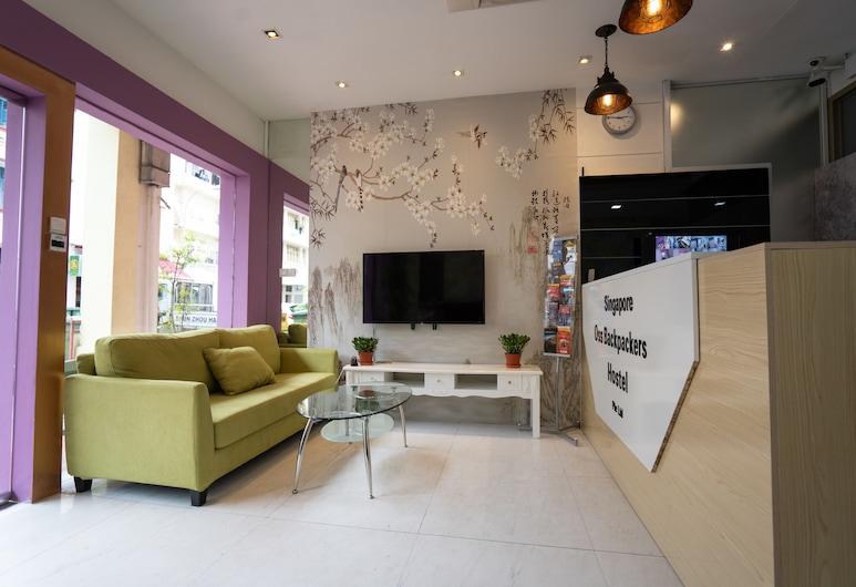 OSS Backpackers Hostel, Singapore, Khu phòng khách tại tiền sảnh