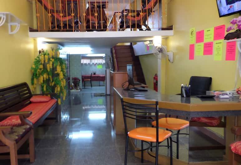 홈 허그 호스텔 - 어른, 방콕, 리셉션