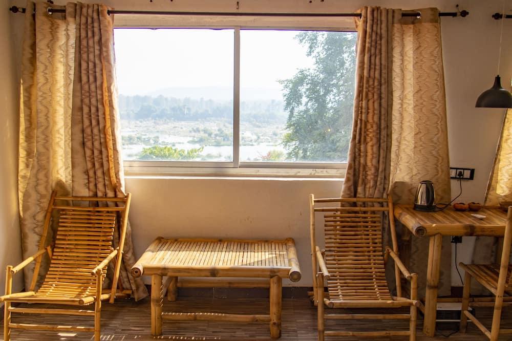 家庭套房, 多張床, 吸煙房, 河景 - 水景