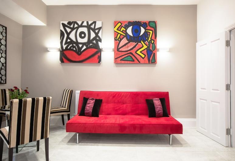 The Mornington Camden, Londres, Sala de estar en el lobby
