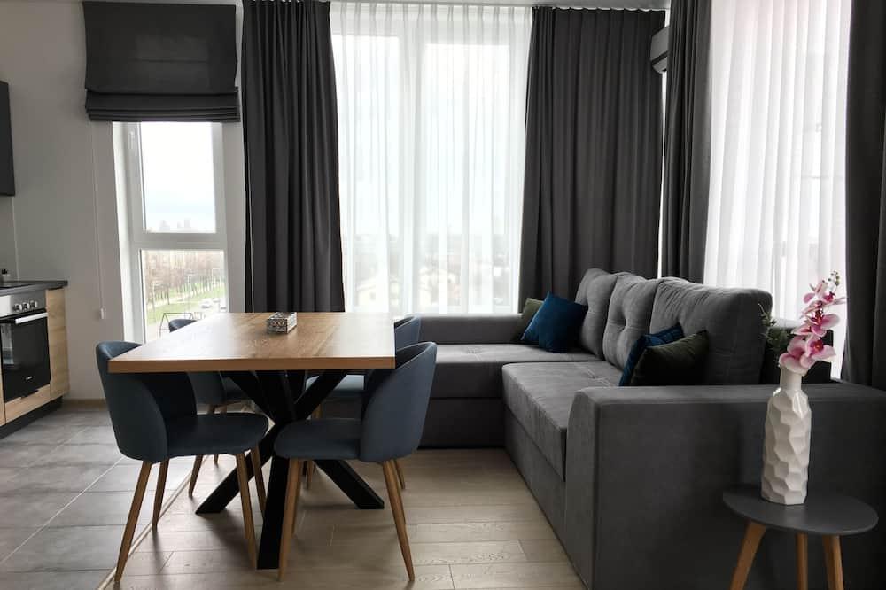 商務公寓, 露台 (2) - 客廳