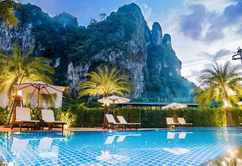 Frank Ao Nang Krabi Resort, Krabi, Buitenzwembad