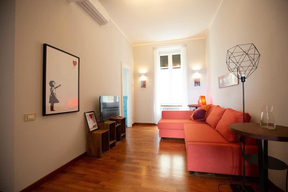 Apartmán se 2 ložnicemi - Obývací pokoj