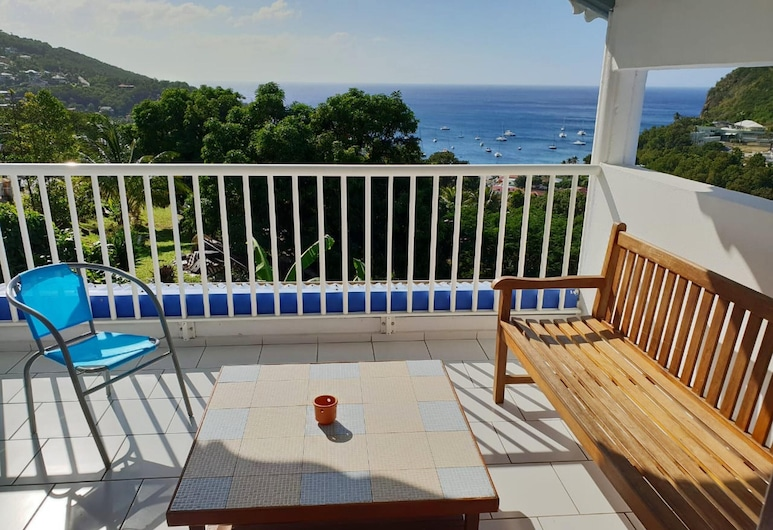 Apartment With 3 Bedrooms in Deshaies, With Wonderful sea View, Terrace and Wifi - 1 km From the Beach, Deshaies