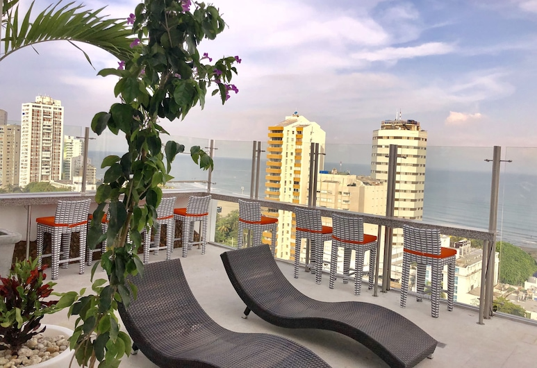 ZiOne Luxury Hotel Cartagena, Cartagena, View from Hotel