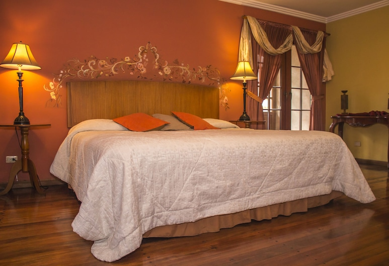 Posada del Rey, Cuenca, Honeymoon Double Room, 1 King Bed, Non Smoking, City View, Guest Room