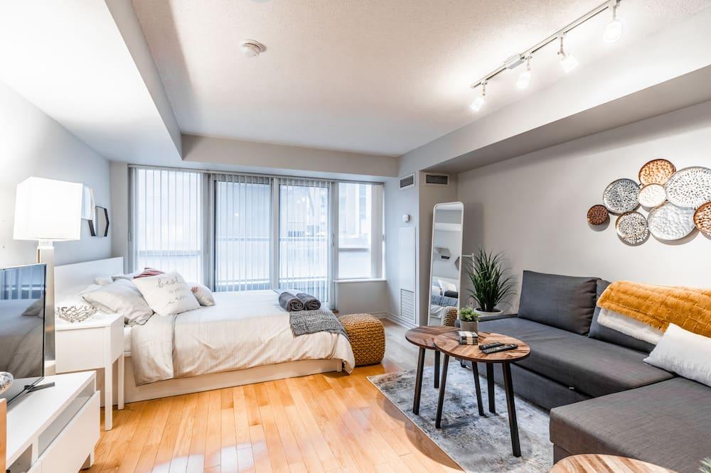 Deluxe-lejlighed - flere senge - ikke-ryger - Opholdsområde