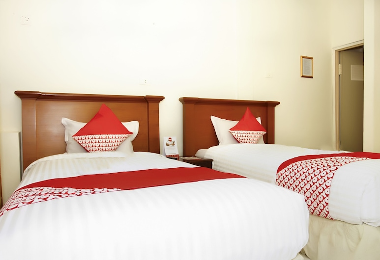OYO 236 Penginapan Rumah Hijau, Palembang, Kamar Twin Standar, 2 Tempat Tidur Twin, non-smoking, Kamar Tamu