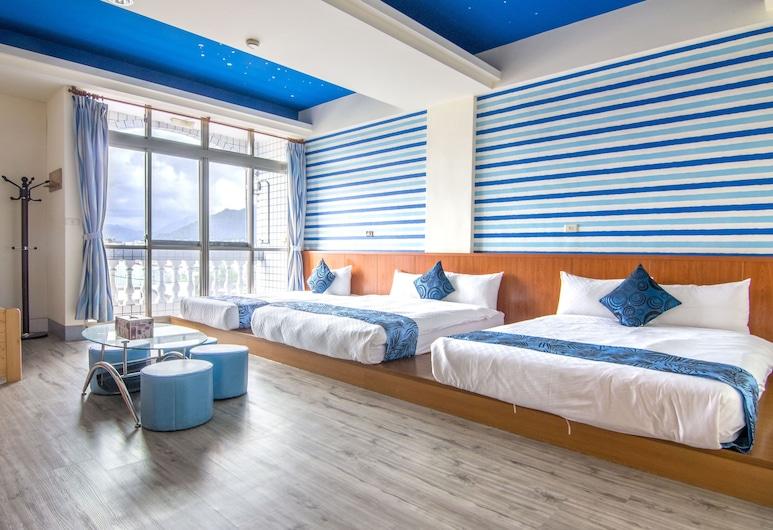 Blue Sky B&B, Hualien, Családi lakosztály, erkély (401), Lobby