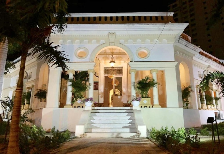 El Castillo Del Marquez, Cartagena, Hotellets indgang