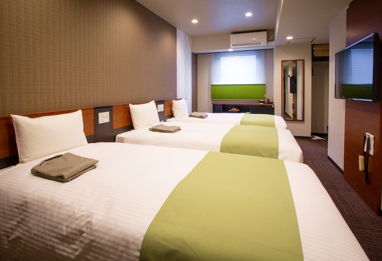 Hotel Kuretakeso Takayama Ekimae, טאקאיאמה, חדר לשלושה, חדר אורחים