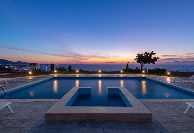 Monte Smith Luxury Villa, Rodosz, Kilátás a szálláshelyről