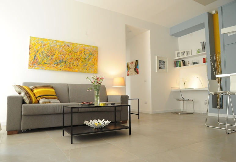 Saint Peter's House, Rome, Superior Apartment, 1 Bedroom, Living Room