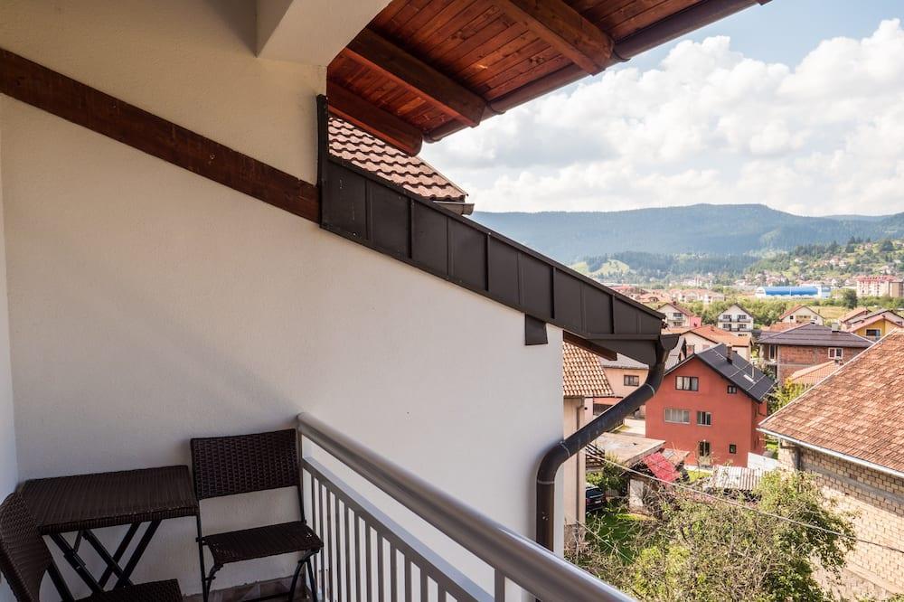 Lägenhet Panoramic - flera sängar - icke-rökare - utsikt mot bergen - Balkong