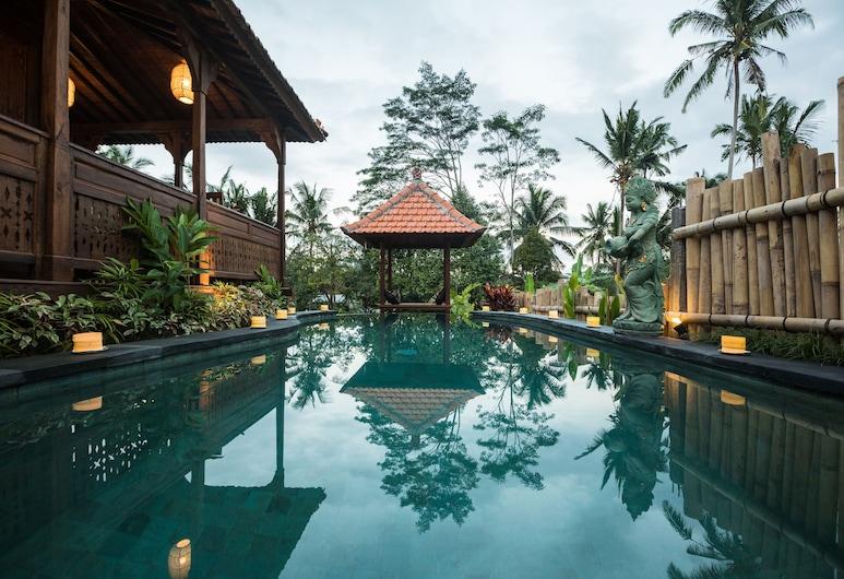 Kawan Antique Ubud Villa, Ubud, Vonkajší bazén