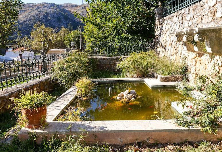Ifigenia Theriso Village, Chania, Stórt Deluxe-einbýlishús (Michalis), Svalir