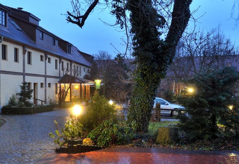 溫澤爾斯霍夫飯店, 拜爾羅德, 飯店入口