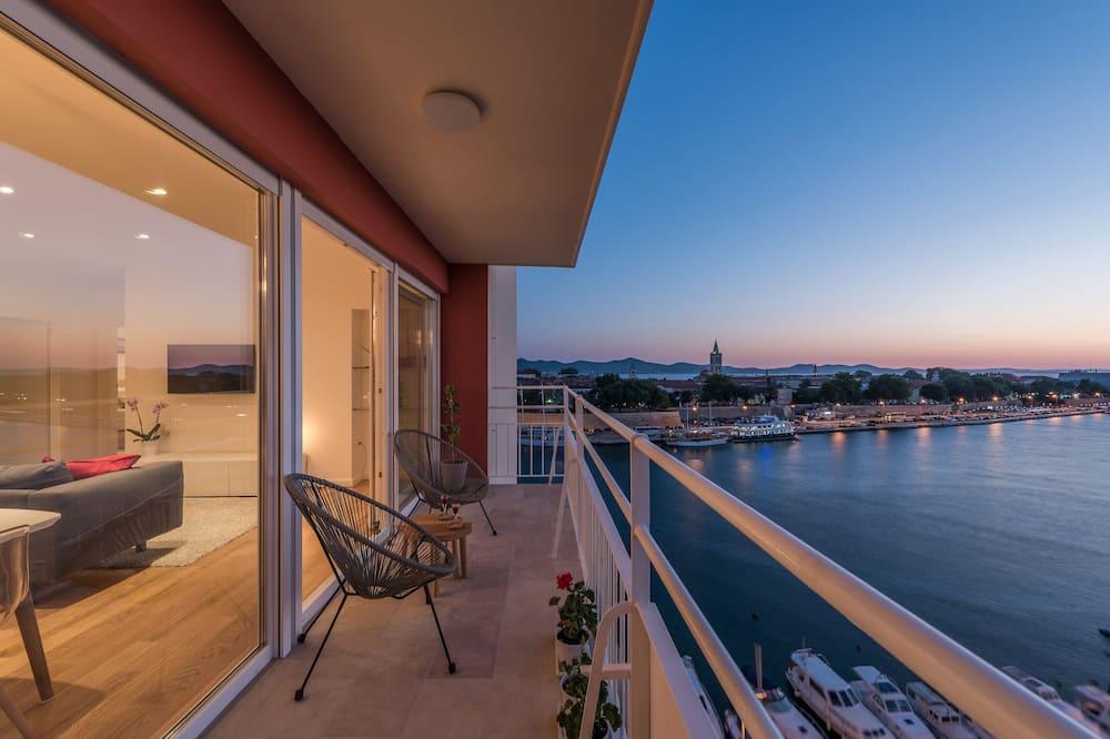 Apartment, 2 Bedrooms, Sea View - Balkon