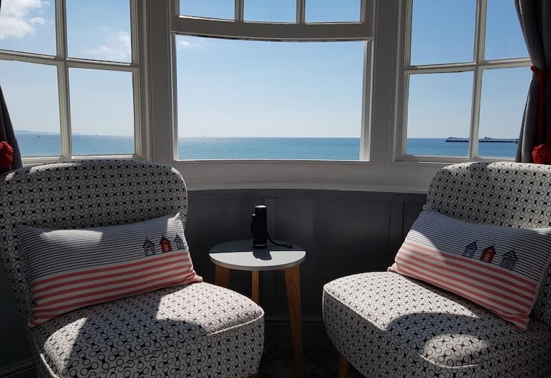 Brunswick Bed & Breakfast, Weymouth, Dobbeltrom – premium, utsikt mot bukt, Gjesterom