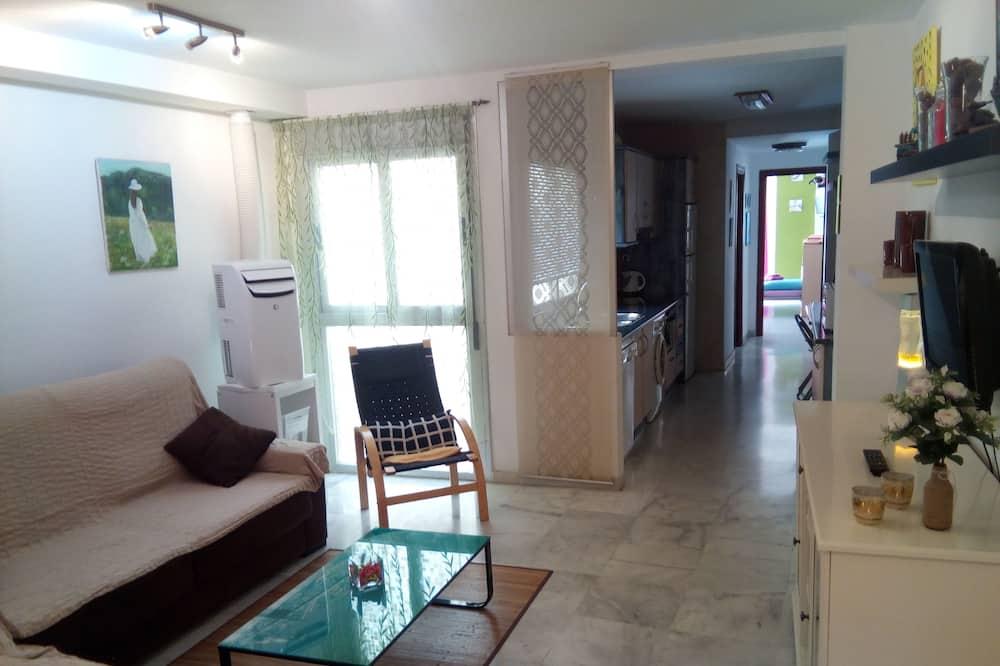 Családi apartman, 2 hálószobával - Nappali