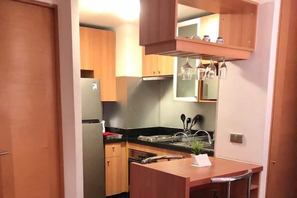 Eetruimte in kamer