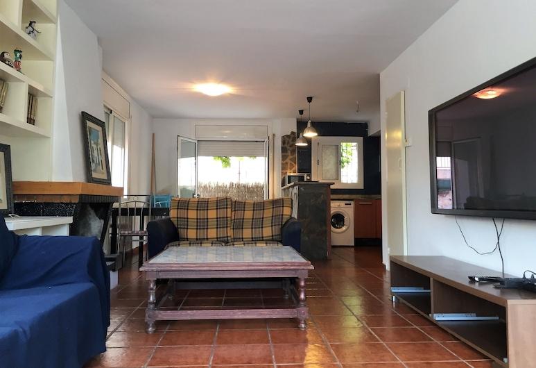 多拉达海滩木屋酒店, 百立方尺 , 木屋, 4 间卧室, 露台, 起居区