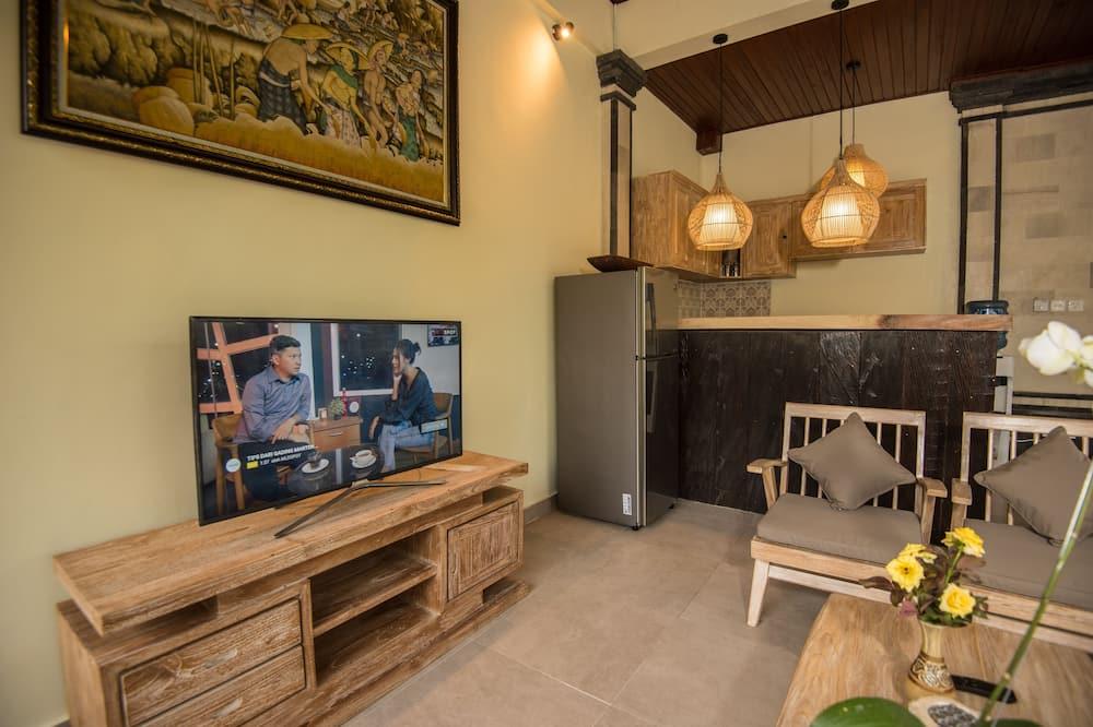 Villa, 1 habitación, piscina privada - Sala de estar