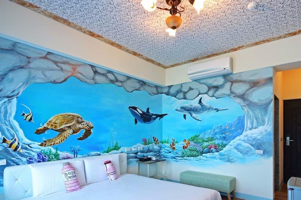חדר סטנדרט זוגי, חדר שינה אחד (Ocean) - נוף להר