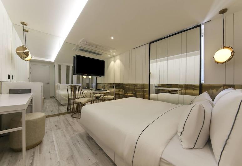 新村弗雷斯塔飯店, 首爾, 豪華客房, 客房