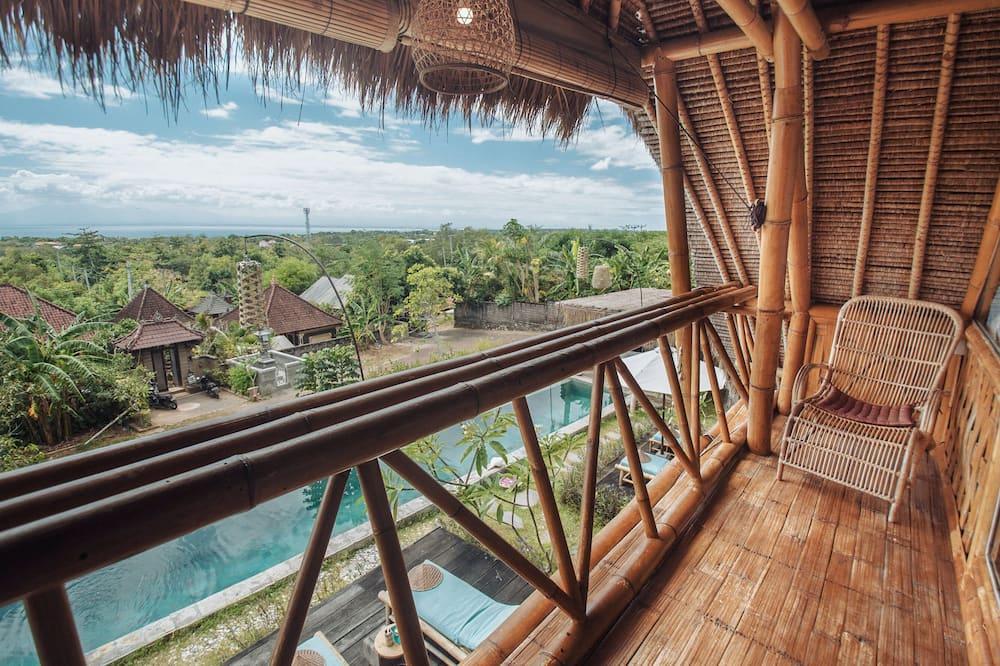 Dom, výhľad na more (Private Bamboo House 1) - Výhľad z balkóna