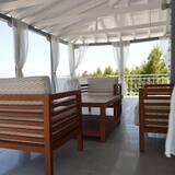Suite panorámica, Varias camas, vista al mar - Balcón