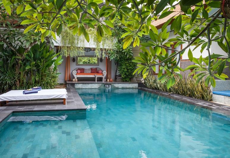 Villa Mesui Lotus, Denpasar, Perhehuvila, 6 makuuhuonetta, Pääsy uima-altaalle