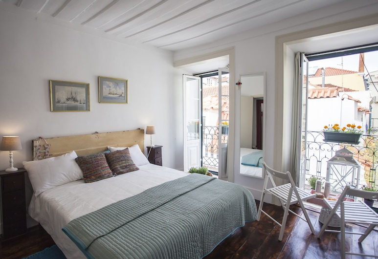 Lisbon Inn Bica Suites, Λισσαβώνα, Deluxe Στούντιο, Δωμάτιο επισκεπτών