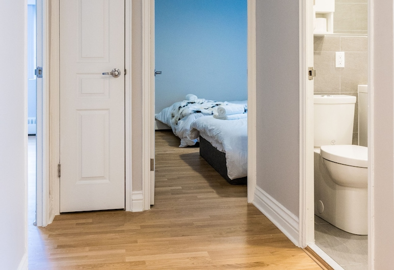 Modern Apartments in the Heart of DT by Nuage, Montreal, Departamento, Varias camas, para no fumadores (15-3421), Habitación