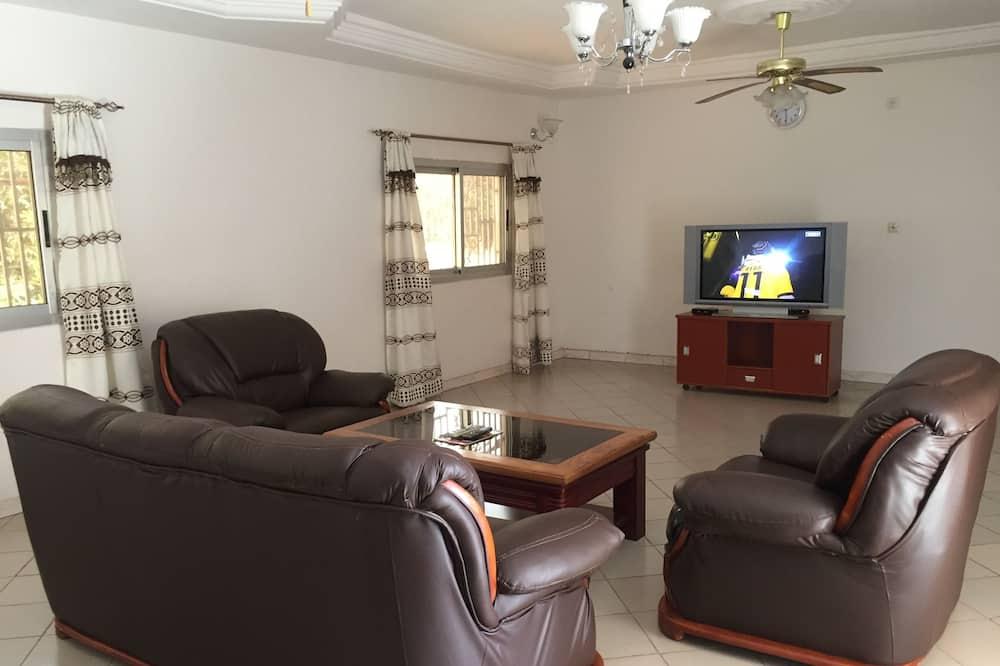 Comfort tweepersoonskamer, 1 tweepersoonsbed, niet-roken - Woonruimte