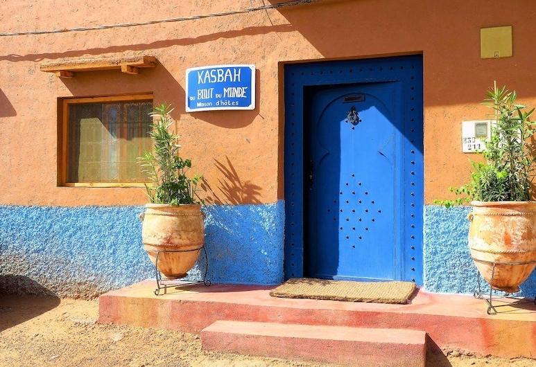 Kasbah du bout du monde, Zagora, Įėjimas į viešbutį