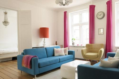 コペンハーゲンのシティアパートメント(3ベッドルーム)/