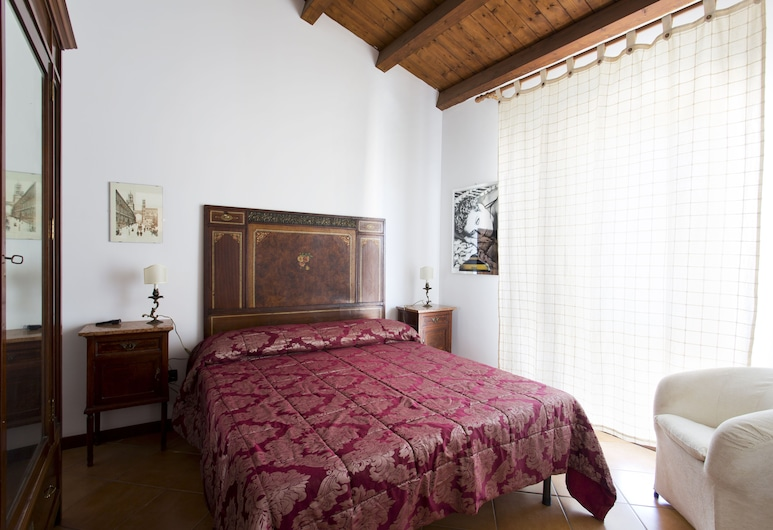 Historical Centre Flat with terrace, Palermo, Appartamento, 1 letto queen, Camera