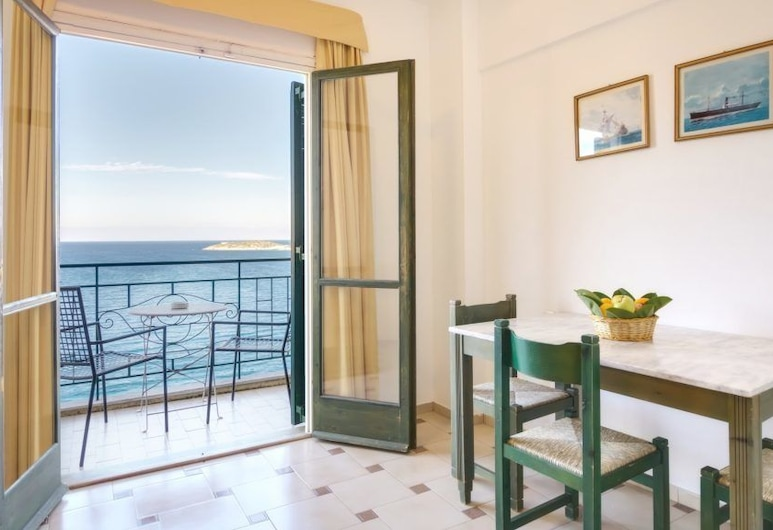 Dimare Apartments, Agios Nikolaos, Studio, Sea View, Living Area